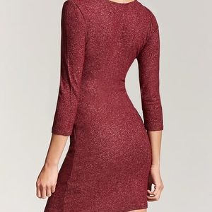 Forever 21 Dresses - Forever 21 • Marled Surplice Dress •